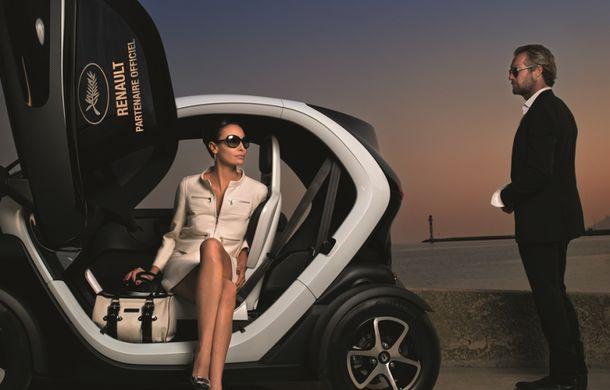 Renault vine la Festivalul de la Cannes cu patru prototipuri bazate pe Twingo şi cu o flotă de 225 vehicule - Poza 2