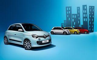 Renault vine la Festivalul de la Cannes cu patru prototipuri bazate pe Twingo şi cu o flotă de 225 vehicule