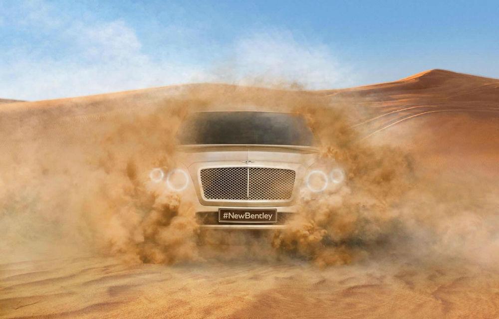 Fabrica Bentley se pregăteşte să producă primul SUV al mărcii: 140 de angajaţi noi, investiţie de un miliard de euro - Poza 1