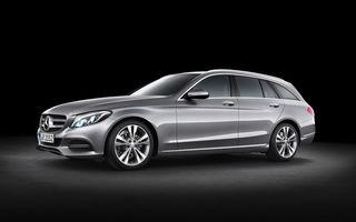 Mercedes-Benz C-Klasse Estate: primele imagini oficiale ale break-ului german