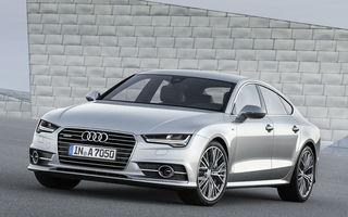 Audi A7 Sportback a primit un facelift
