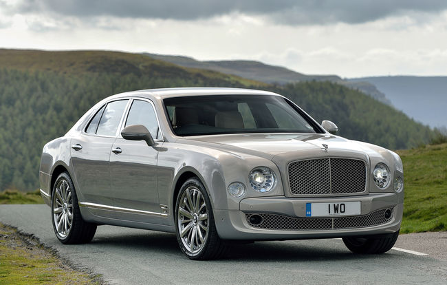 Test drive Bentley Mulsanne facelift