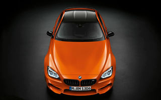 BMW M6 Coupe Fire Orange - exemplar unic pentru un pilot DTM