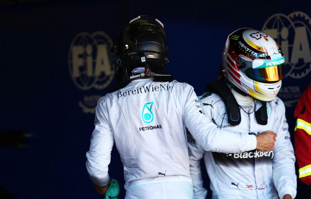 "Hamilton: ""Voi rezolva conflictul cu Rosberg la fel ca Senna"" - Poza 1"