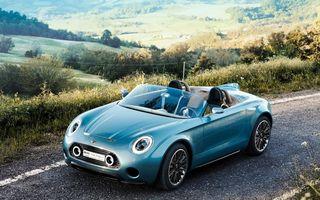 Mini Superleggera Vision: conceptul unui roadster britanic cu inspiraţie italiană