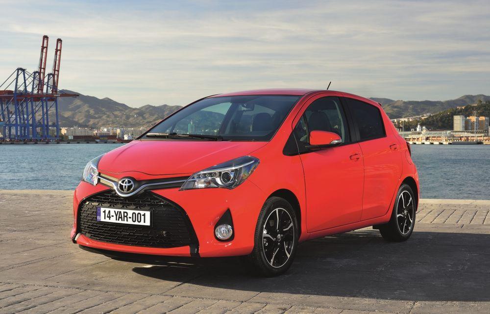 Toyota Yaris facelift: primele imagini şi informaţii oficiale - Poza 1