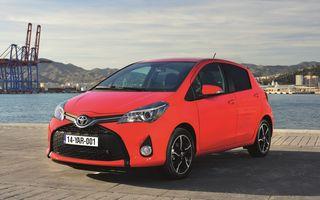 Toyota Yaris facelift: primele imagini şi informaţii oficiale