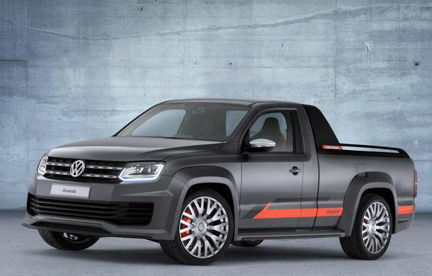 Volkswagen Amarok Power Concept - o discotecă pe roţi pentru Festivalul de la Worthersee - Poza 1