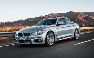 Preturi BMW Seria 4 Gran Coupe: a treia versiune de caroserie din gama Seria 4 începe de la 35.570 euro