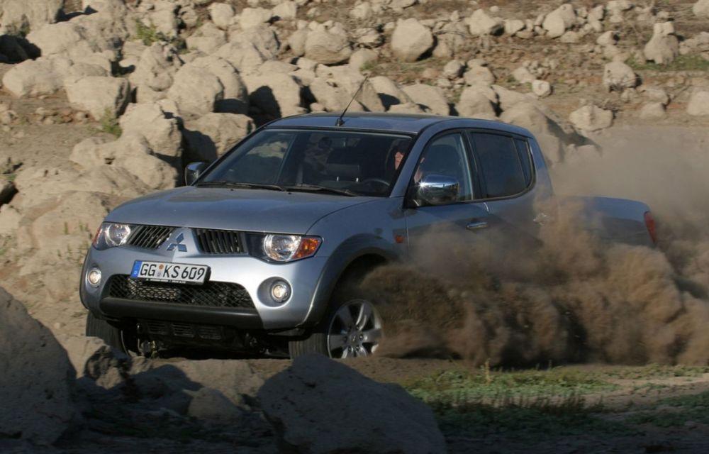 Fiat ar putea lansa un pick-up bazat pe Mitsubishi L200 în 2016 - Poza 1