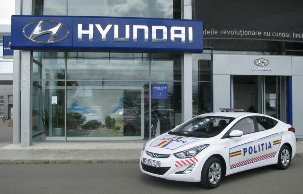 Poliţia Rutieră Ilfov va folosi un Hyundai Elantra facelift - Poza 1