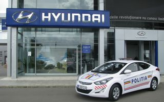 Poliţia Rutieră Ilfov va folosi un Hyundai Elantra facelift