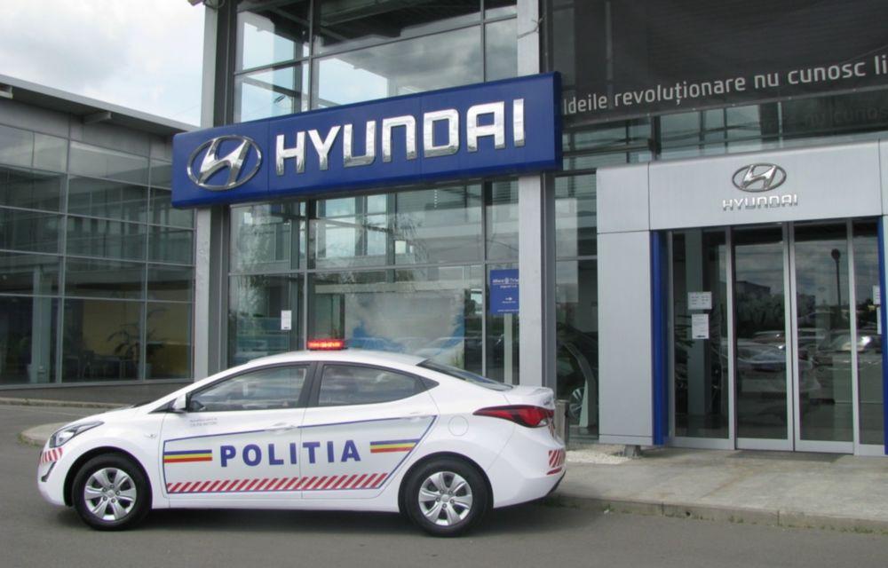 Poliţia Rutieră Ilfov va folosi un Hyundai Elantra facelift - Poza 3