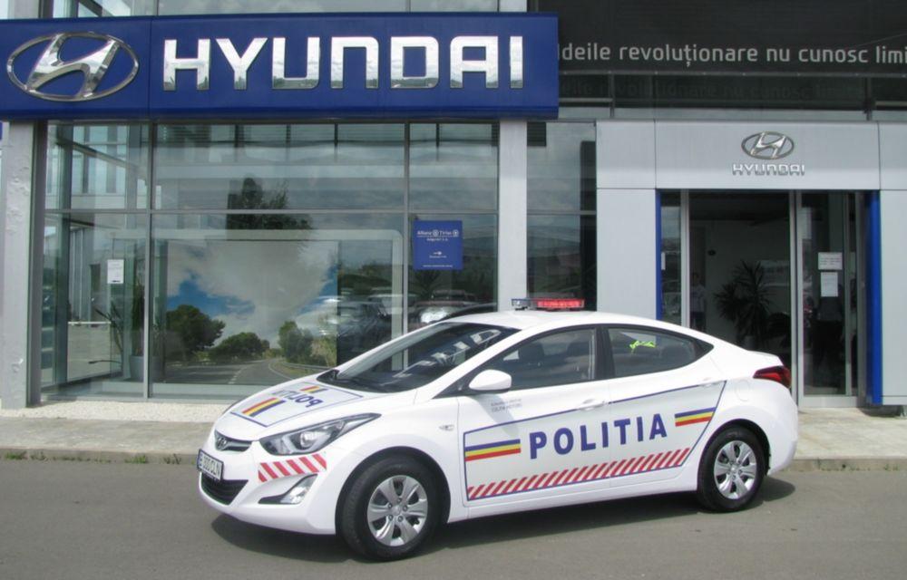 Poliţia Rutieră Ilfov va folosi un Hyundai Elantra facelift - Poza 4