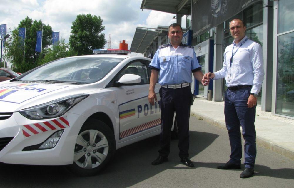 Poliţia Rutieră Ilfov va folosi un Hyundai Elantra facelift - Poza 2