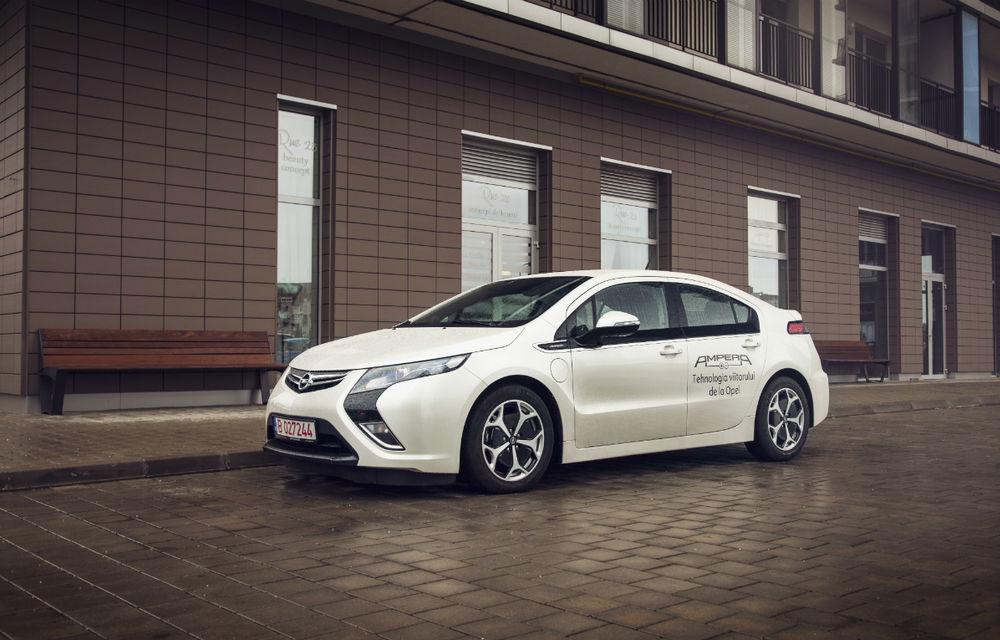 Ministrul Mediului a primit un Opel Ampera - Poza 2