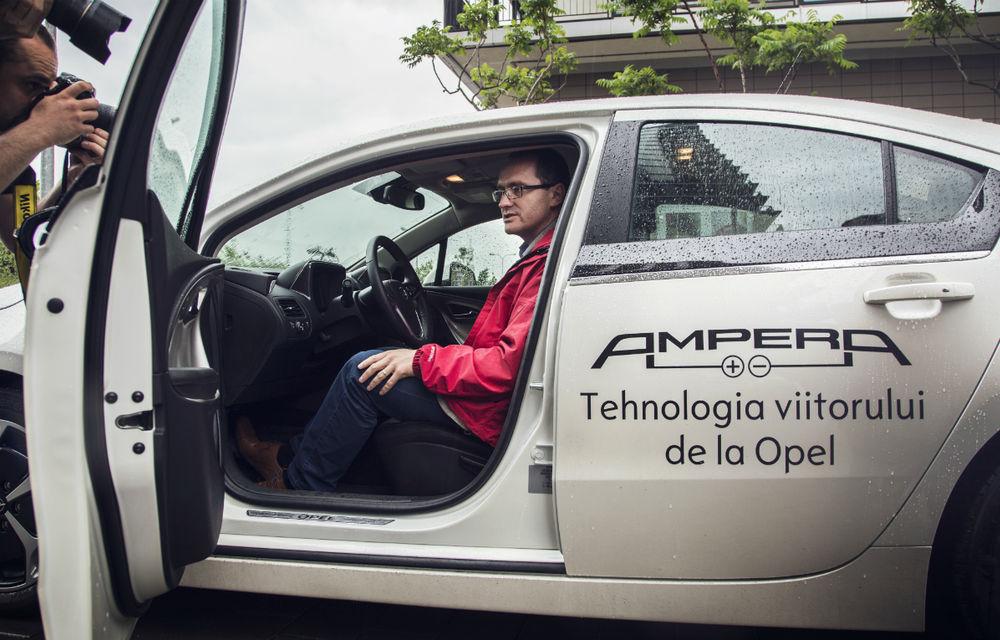 Ministrul Mediului a primit un Opel Ampera - Poza 3