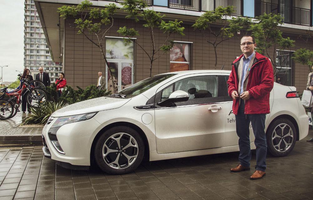 Ministrul Mediului a primit un Opel Ampera - Poza 1