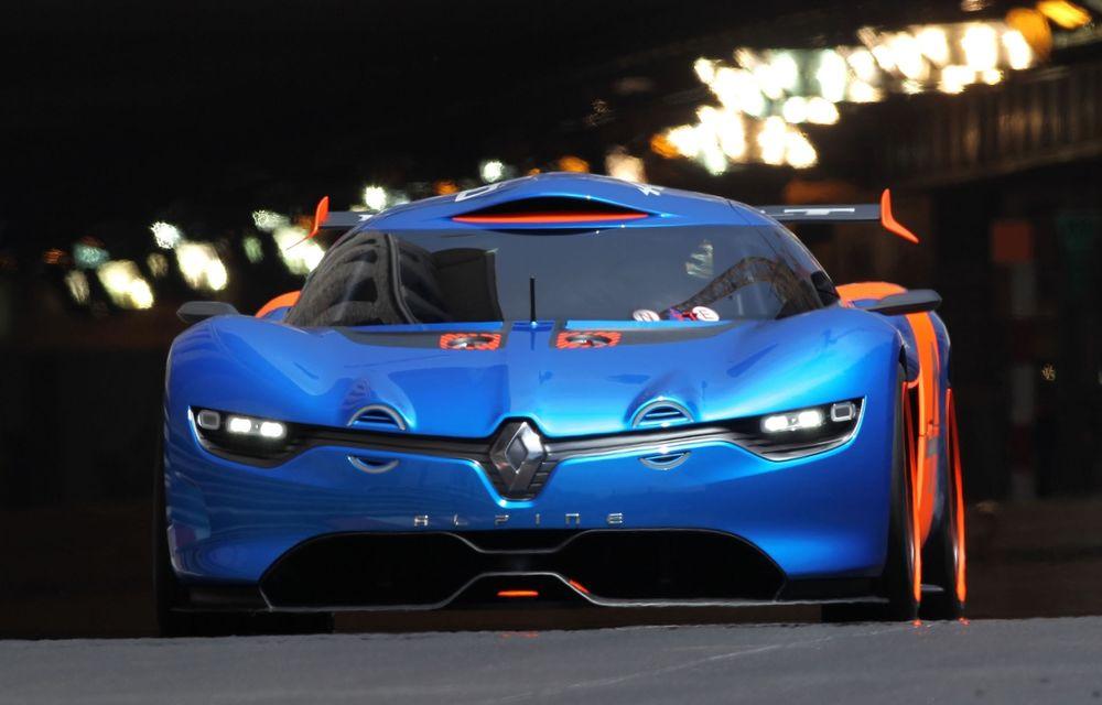 Renault deţine acum pachetul complet de acţiuni al joint-venture-ului Alpine şi va lansa un model de serie în 2016 - Poza 1