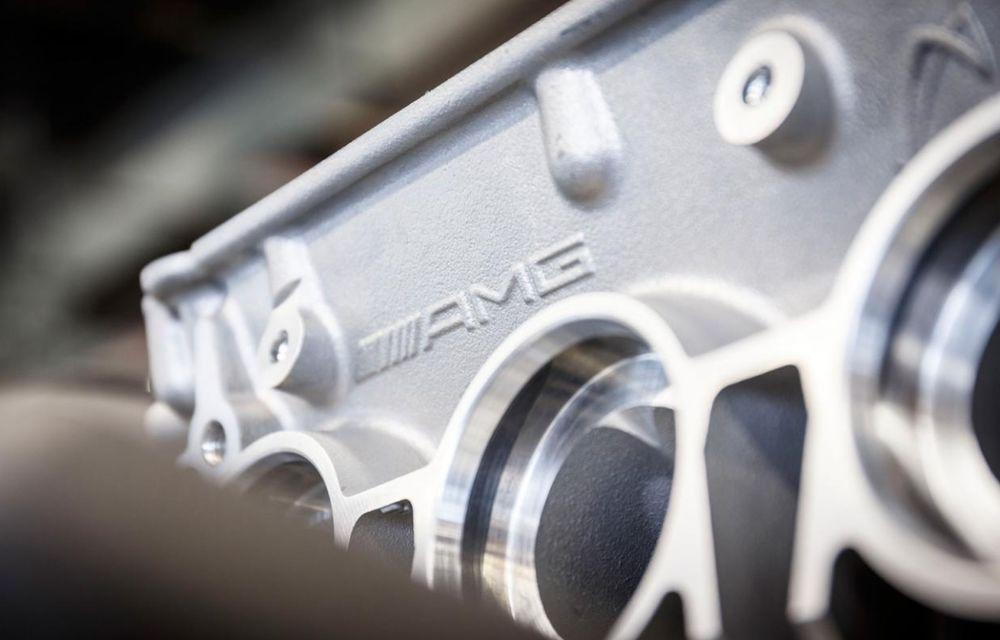 Mercedes-Benz prezintă motorul lui AMG GT: V8 twin-turbo de 510 CP - Poza 4