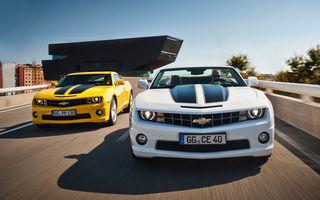 GM recheamă în service toate unităţile Chevrolet Camaro produse din 2010 până în prezent