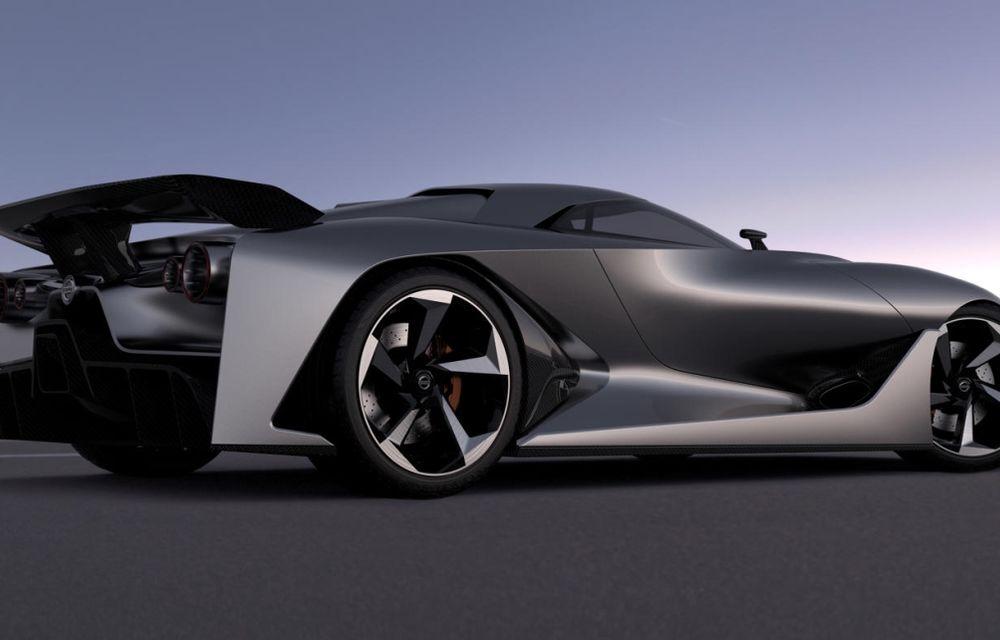 Nissan Vision Gran Turismo Concept, un model de competiţie destinat circuitelor virtuale - Poza 4