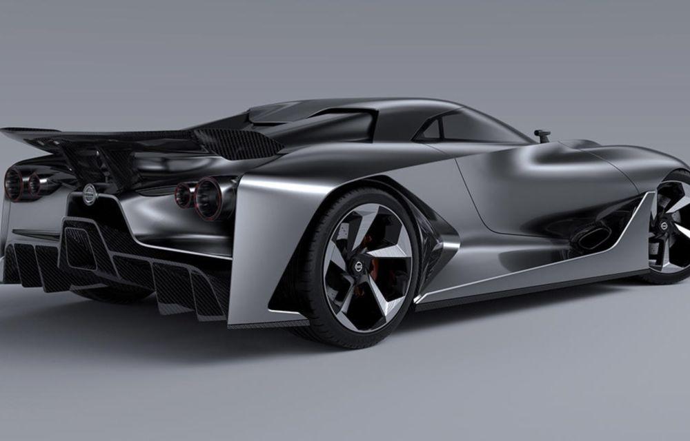 Nissan Vision Gran Turismo Concept, un model de competiţie destinat circuitelor virtuale - Poza 3