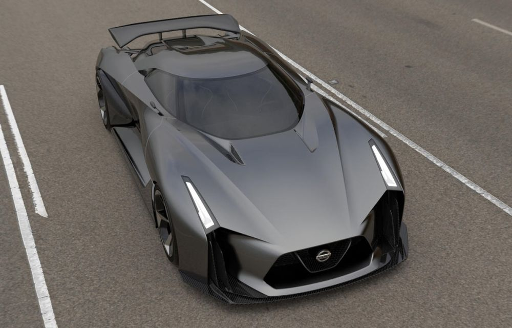 Nissan Vision Gran Turismo Concept, un model de competiţie destinat circuitelor virtuale - Poza 2