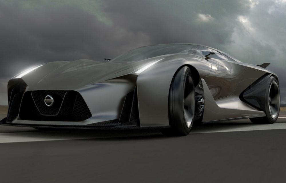 Nissan Vision Gran Turismo Concept, un model de competiţie destinat circuitelor virtuale - Poza 1