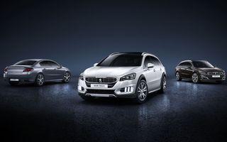 Peugeot 508 ar putea fi înlocuit de două modele