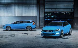 Volvo S60 şi V60 Polestar au intrat în producţie