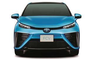 Toyota ne prezintă versiunea de serie a lui FCV, modelul său alimentat cu hidrogen pe care îl va lansa în 2015