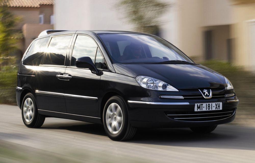 Peugeot va elimina din gamă modelele 807 şi 207 Plus - Poza 1