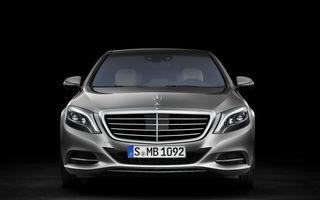 Mercedes-Benz va construi o versiune Pullmann a lui S-Klasse pentru a înlocui gama Maybach