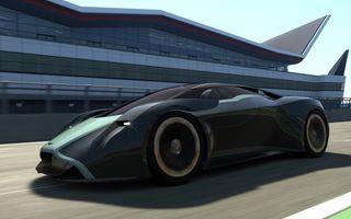 Aston Martin DP-100 Vision Gran Turismo a fost prezentat în mărime naturală la Goodwood