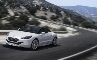 Peugeot RCZ va primi o nouă generaţie în 2016
