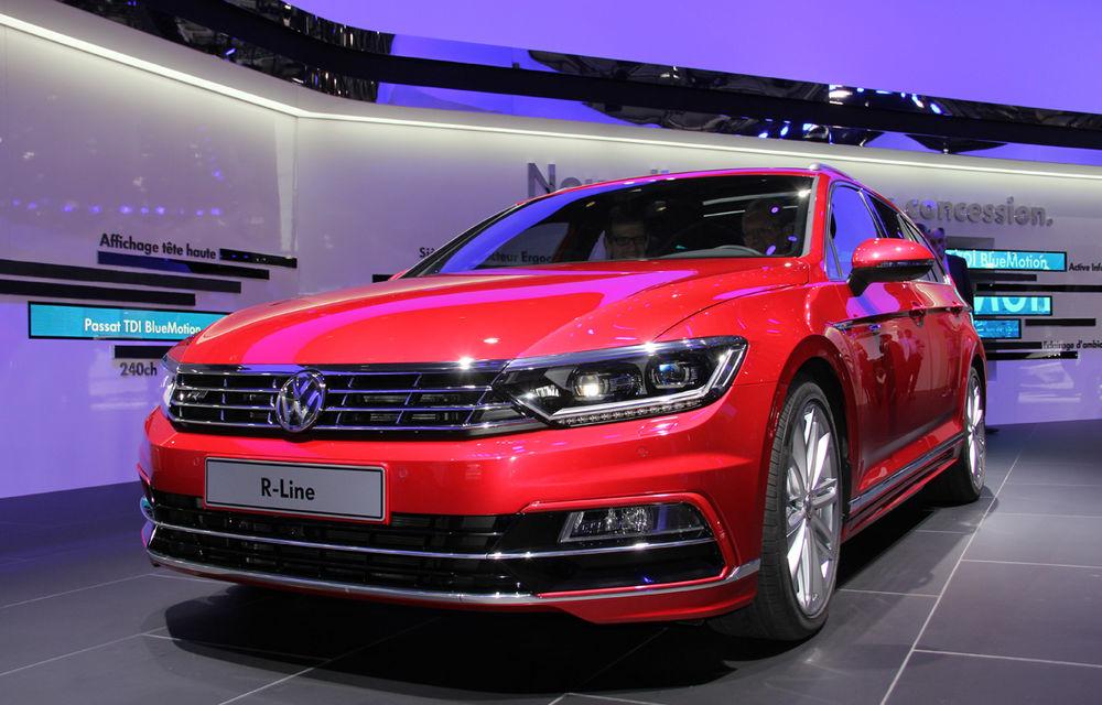 PARIS 2014 LIVE: Noul Volkswagen Passat - primele imagini ale generaţiei B8 - Poza 1