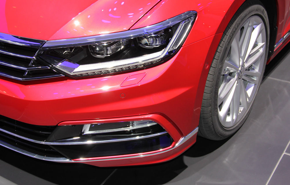 PARIS 2014 LIVE: Noul Volkswagen Passat - primele imagini ale generaţiei B8 - Poza 9