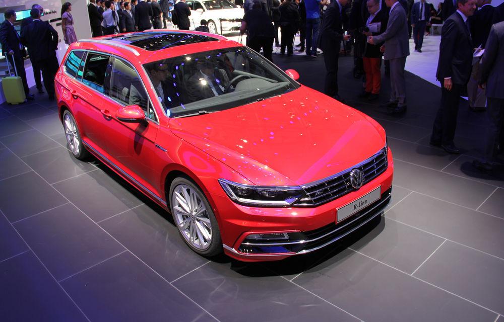 PARIS 2014 LIVE: Noul Volkswagen Passat - primele imagini ale generaţiei B8 - Poza 3