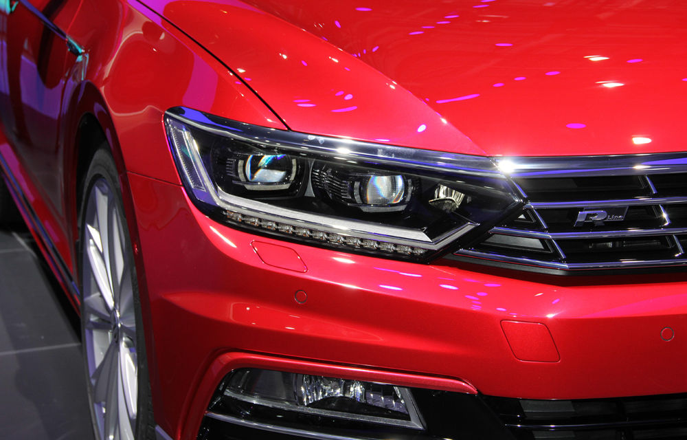 PARIS 2014 LIVE: Noul Volkswagen Passat - primele imagini ale generaţiei B8 - Poza 5