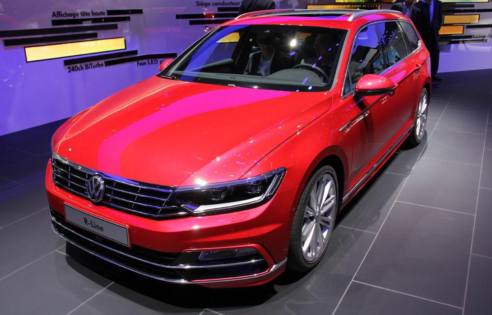 PARIS 2014 LIVE: Noul Volkswagen Passat - primele imagini ale generaţiei B8 - Poza 6