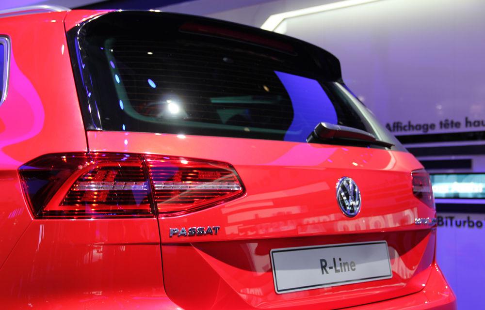 PARIS 2014 LIVE: Noul Volkswagen Passat - primele imagini ale generaţiei B8 - Poza 11