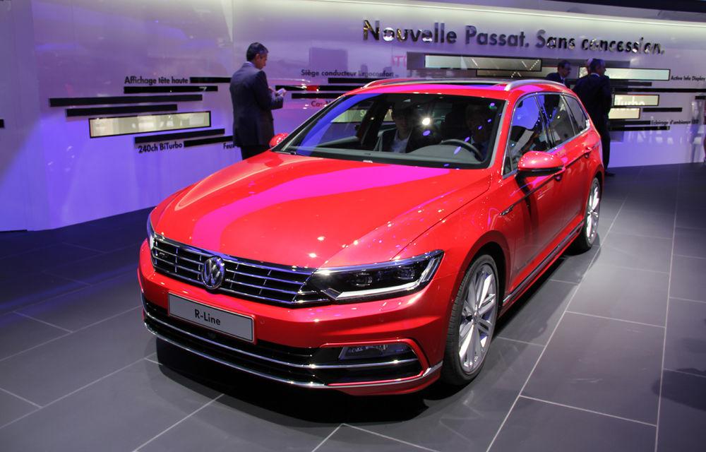 PARIS 2014 LIVE: Noul Volkswagen Passat - primele imagini ale generaţiei B8 - Poza 8