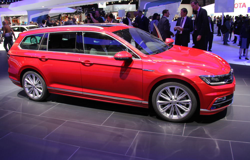 PARIS 2014 LIVE: Noul Volkswagen Passat - primele imagini ale generaţiei B8 - Poza 2