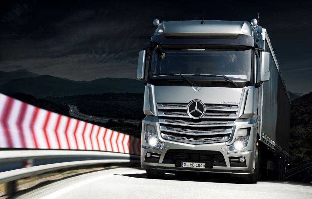Mercedes-Benz testează un camion autonom, pe care vor să-l producă în serie din 2025 - Poza 1
