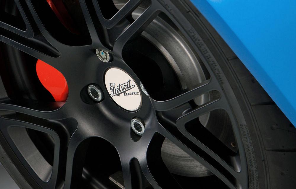 Cea mai rapidă maşină electrică din lume, Detroit Electric SP:01, confirmată pentru producţie - Poza 15