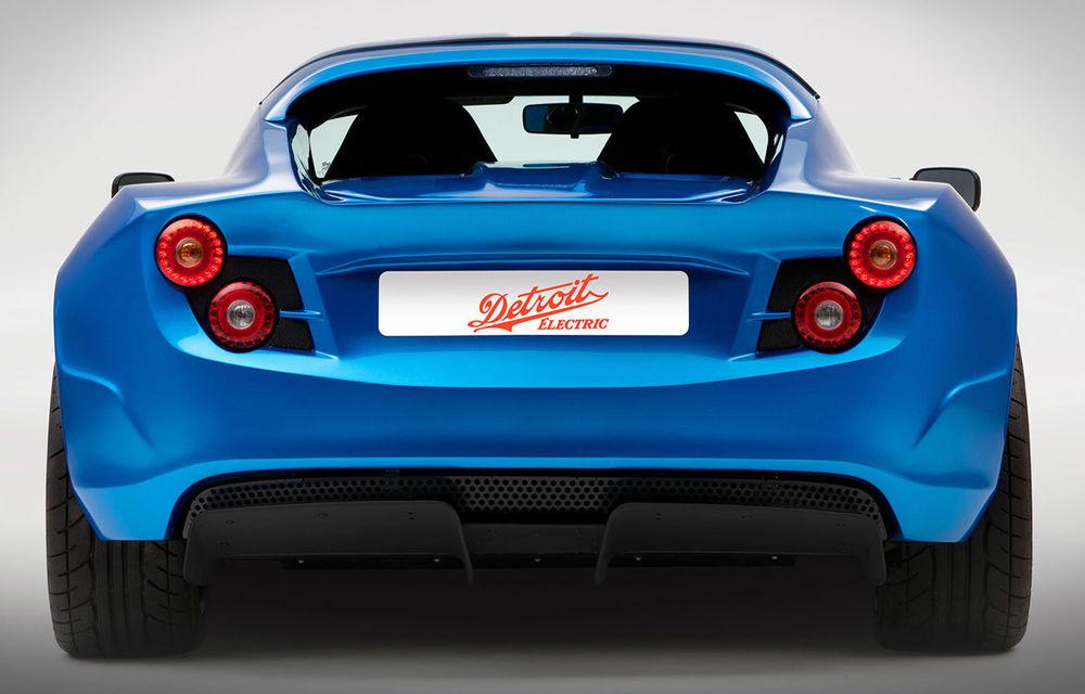 Cea mai rapidă maşină electrică din lume, Detroit Electric SP:01, confirmată pentru producţie - Poza 6