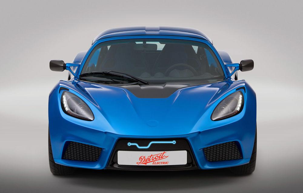 Cea mai rapidă maşină electrică din lume, Detroit Electric SP:01, confirmată pentru producţie - Poza 1