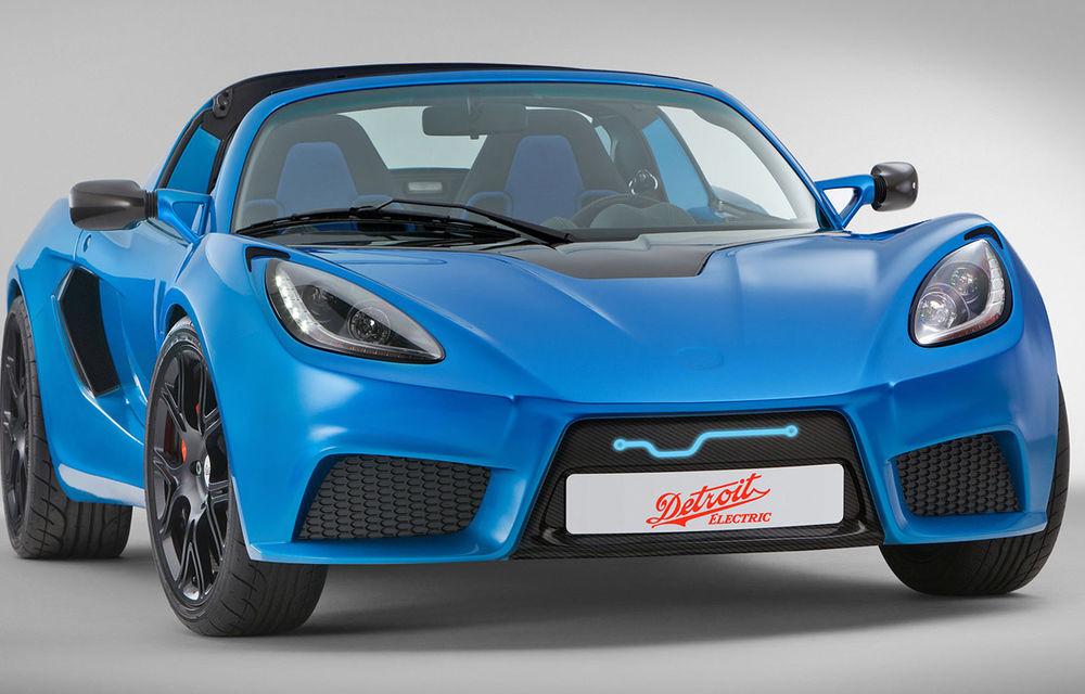 Cea mai rapidă maşină electrică din lume, Detroit Electric SP:01, confirmată pentru producţie - Poza 10
