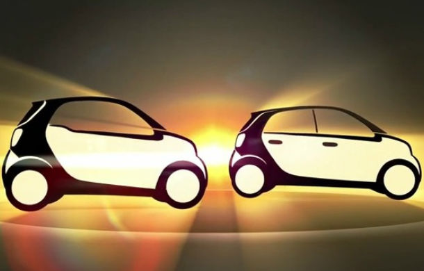 Noile Fortwo şi Forfour - primul teaser video explică designul viitoarelor modelelor Smart - Poza 1